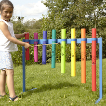 Outdoor Boomwhacker Music Frame  medium