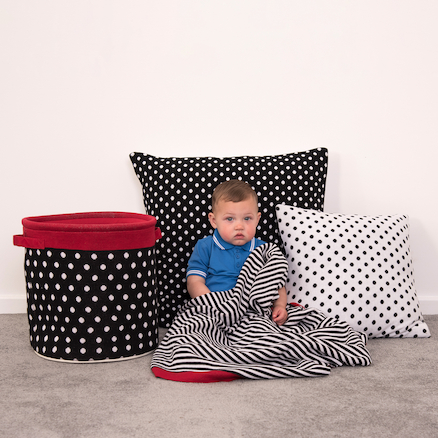 Baby Black and White Soft Furnishing Collection  large