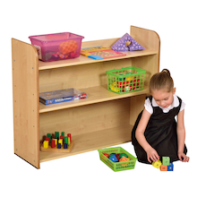 Open Storage Bookcase  medium