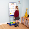 Mobile Portrait Drywipe Easel  small