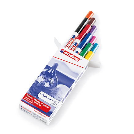Assorted Edding Paint Markers 10pk  large
