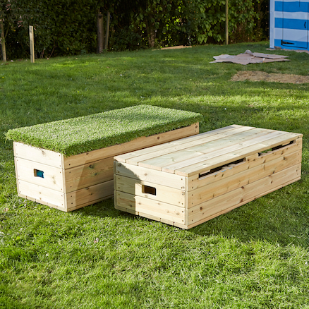 Outdoor Storage Bench  large