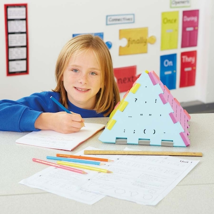 The Writers Pyramid \- School Pack KS1\/LKS2\/UKS2  large