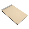 220gsm Jumbo Spiral Black Card Sketchbook A3  small