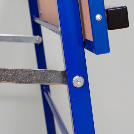 Big A Frame Easel Blue W90 x H90cm  large