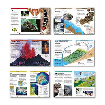 Physical Geography Books 6pk  large