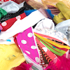 Fabric Material Offcuts 250g  small