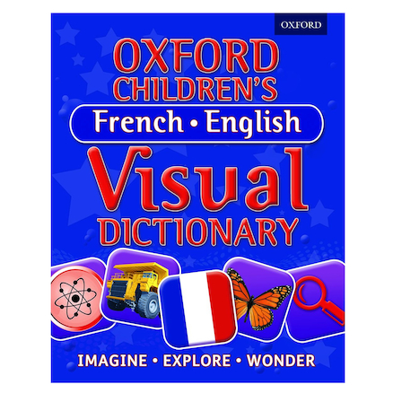 Oxford Children\'s French\-English Visual Dictionary  large