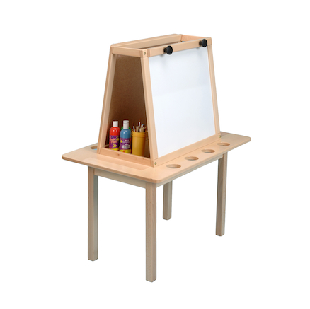 Two Sided Dry Wipe Easel  large