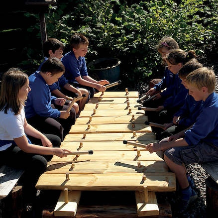 Giant Outdoor Xylophone  large