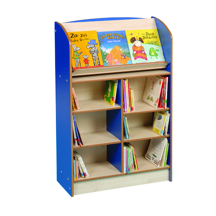 Single Sided Bookcase Height 1200mm  large