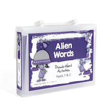 Pseudo Words Activity Cards A5  medium
