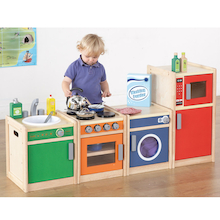 Toddler Role Play Kitchen Range  medium