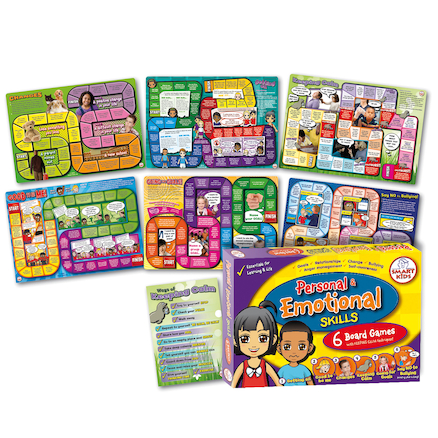 PSHE Board Games 4pk  large