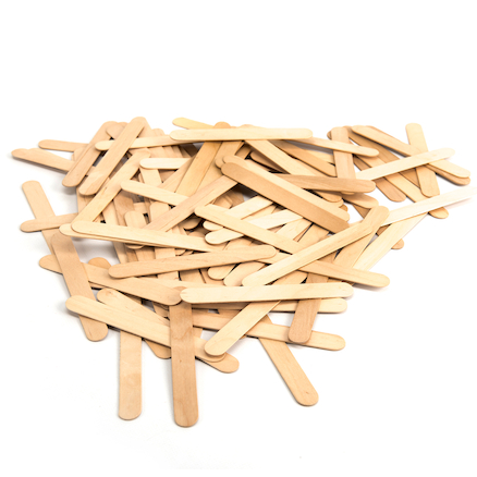 Large Craft Lolly Sticks  large