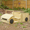 Outdoor Wooden Role Play Truck  small