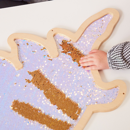 Mark Making Sequin Giant Dinosaurs  large
