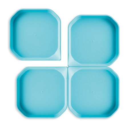 Messy Trays Blue 4pk  large
