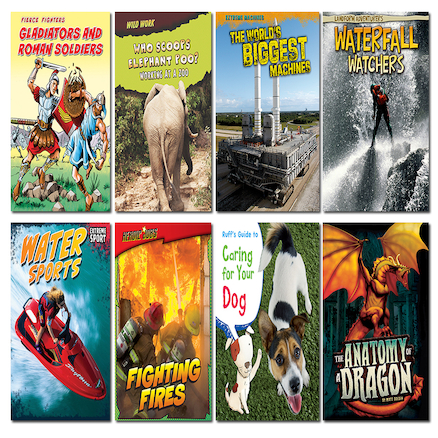 KS3 Accelerated Reader Level 3\-4 Book Pack 8pk  large