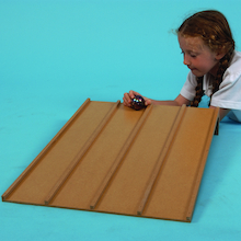 Four Lane Wooden Forces Slope  medium
