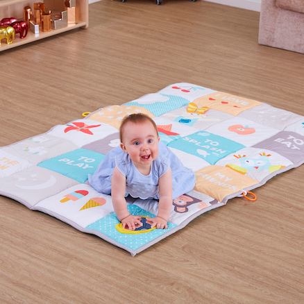 Soft Padded Large Baby Play Mat 150 x 100cm  large