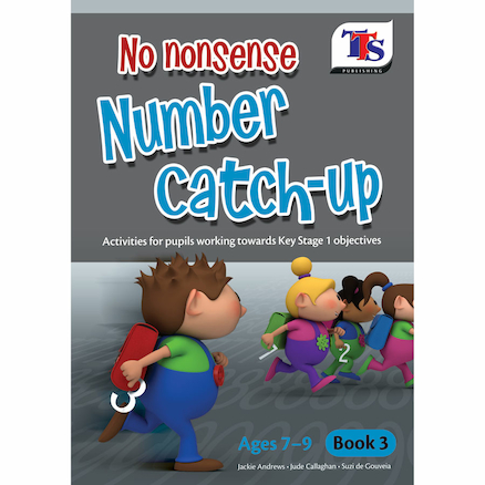 No Nonsense Number Catch Up Book  large