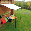 Outdoor Wall Mounted Gazebo W2.5 x H2.5m  small