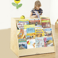 Book Display Unit with Storage W66 x D61 x H66cm  medium