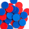 Two Colour Counters Red\/Blue 200pk  small