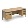 Maestro 18mm Two \x26 Three Drawer Desk  small