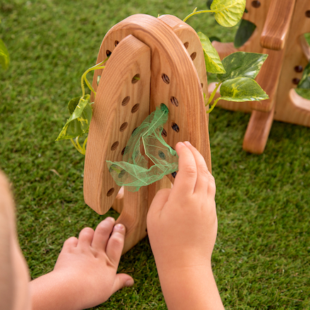 Wooden 3D Threading and Lacing Trees 3pk  large