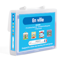 French Vocabulary Builders - In the Town  medium