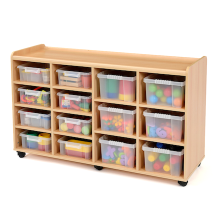 Safe Sturdy Tray Storage Units 8 Shallow \/ 6 Deep  large
