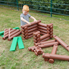 Jumbo Log Building Set  small