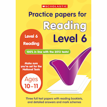 Practice Papers for Reading Level 6  medium