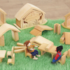 Small World Wooden Nesting Houses  small