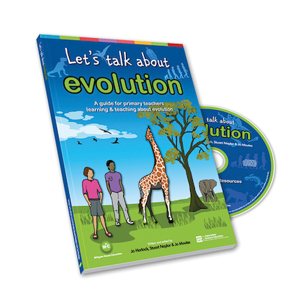 Lets Talk About Evolution Book And CD  large