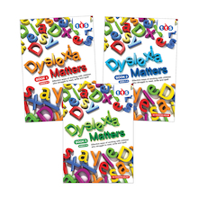 Dyslexia Matters Activity Assessment Books  medium