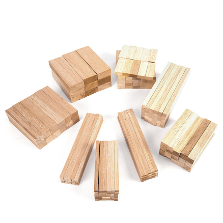 Assorted Balsa Wood 150pk  large