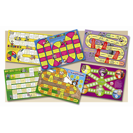 Social Skills Board Games 6pk  large