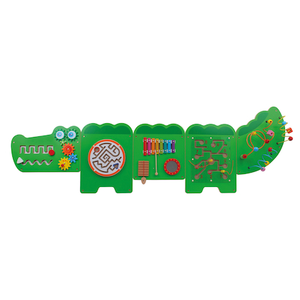Crocodile Manipulative Fine Motor Wall Panel  large