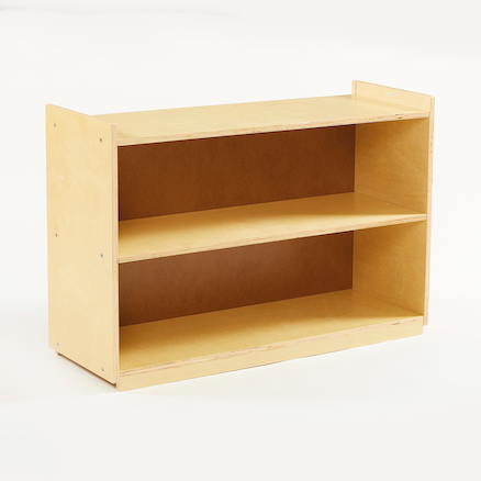 Deep Shelf Wooden Bookcase  large