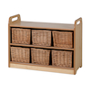 PlayScapes Shelf With Back H66 x 90cm  small