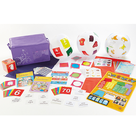 French Beginners Classroom Kit of Resources  large