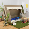 Role Play Wooden Tent Den  small