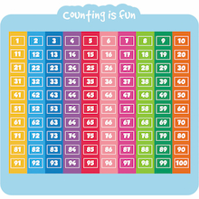 Counting is Fun Maths Playground Signs  medium