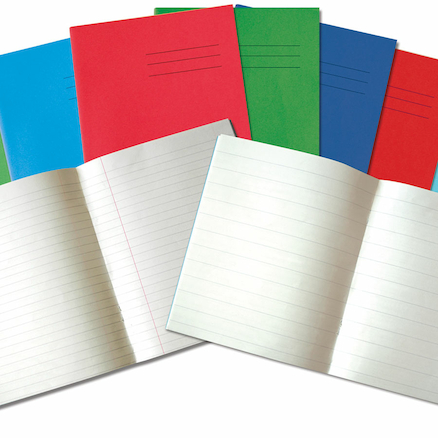 9 x 7\'\' 32 pages 100pk Exercise Books  large