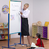 Junior Mobile Double Sided Whiteboard  small