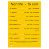 French Verb Posters  small