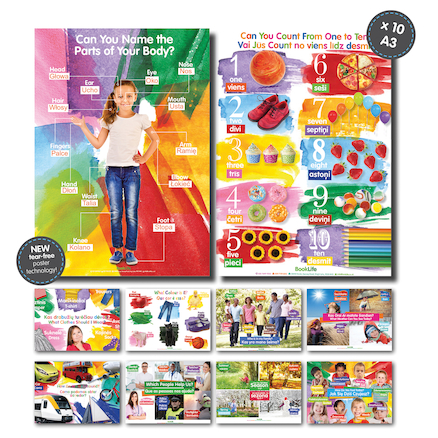 Early Years Phrases EAL Posters 10pk  large